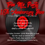 trim mix party 15th anniversary afternoon warm up donny a tribute  just-ice interview halloween