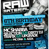 Future Radio - Raw Takeover - Mc Shabba D - Selection B2B Dirty DJ