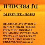 DJ Premier - 24 November 1995 Hot 97 Mixmaster Weekend [REMASTERED]