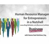 Human Resource Management for Entrepreneurs in a Nutshell