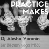 Dj Alesha Voronin Sweating for Bikram Yoga Msc