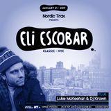 Nordic Trax Radio #105 - Eli Escobar - Live in Vancouver - Jan 2017