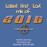 freefall@mixcloud.com - Last Mix In 2016