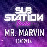 ● MR: MARVIN ● Set + entrevista en Substation Radio On Line ● SEPTIEMBRE 2014