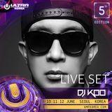UMF KOREA 2016 DJ KOO LIVE SET