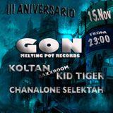 Dj set recorded live 15/11/2014 - GON - Ambigú Station 3rd Anniversary (Cuéllar, Segovia)