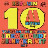 DJ Reverend P @ Motown Party, Djoon, SAturday June 6th, 2014