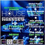 "DJ Freedom's ""House Massive: Rumpus Room ReVibe"" BKLYN NYC (UMR) Sat 9-29-18"