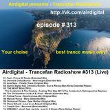 Airdigital - Trancefan Radioshow #313 2017-09-01