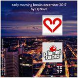 early morning breaks december 2017