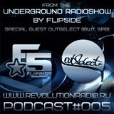 From The Underground Radioshow podcast #005 (Special Guest Outselect)