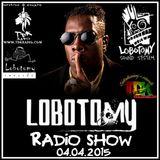 "Lobotomy Show & Selecta Jallah Kadafi 04.04.2015 ""Special Shabba Ranks & Dance hall 2k0"""