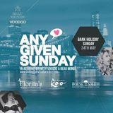 Any Given Sunday - Mix CD 2015