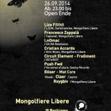 26.09.14 @Bertrams ||OSTeRIOT (CircuitElement+Fragment) ExTrAcT#1 Live 4 Mongolfiere Libere's Event