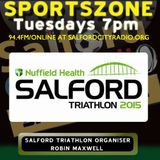 Nuffield Health Salford Triathlon Event Organiser Robin Maxwell On 2015 Event