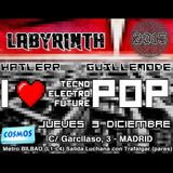 Labyrinth (Cosmos Bar Madrid) - GuilleMODE - 03/12/2015