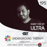 Underground Therapy EP 195 Guest Mix - Ultra