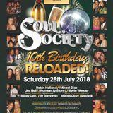Soul Society 10th Birthday Re - Loaded UK Garage Promo