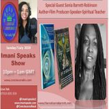 Sonia Barrett-Robinson discuss her book holographic canvas & movie The business of disease