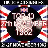 UK TOP 40: 21-27 NOVEMBER 1982