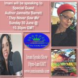 Author Jannette Barrett They Never Saw Me