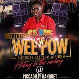 Weepow Bday Bash 2018 March 24- Piccadily Banquet - Birmingham - Guvnas Copy