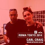 Moxie w/ Carl Craig - RBMA Tokyo 2014
