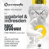 Gabriel & Dresden - Live @ Armada Night, Ministry of Sound London - 15.08.2014