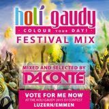 Da Conte   Holi Gaudy Festival Mix
