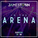DJ James Tobin in The Arena - Queens Birthday 2016