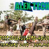 DJ Alex Tech_ Deep, Soulful, Afro-HOUSE_ February 2017 - 3hr Mix