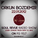 Orkun Bozdemir - FG Sunday Residents - 22.01.2012- SOUL REVUE RADIO SHOW