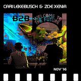 Cari Lekebusch B2B Zoe Xenia - live at Welcome To The Future Indoor Festival - 2016