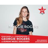 Georgie Rogers' Music Discovery Glastonbury special w/ Maggie Rogers 25th June 2017 on Virgin Radio