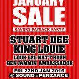 STUART DEE - Recorded LIVE @ TNT presents Raver Payback @ Sound Nightclub, Jan 2016
