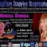 Monica Donida gradita  ospite di Anna Crecco in Scegliere Scoprire Sorprendere 21-06-18