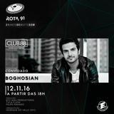 Rota 91 - 12/11/2016 - convidado - Boghosian (Club 88)