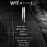 Pan Pot  @ HYTE x Second State (ADE 2015)   15-10-2015