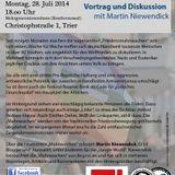 "Martin Niewendick: I don't like Mondays. Die neurechte ""Friedensbewegung"""