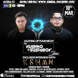 Kueymo & Sushiboy KFM Podcast Ep 75 ft KSHMR w/ exclusive interview