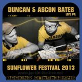 Duncan & Ascon Bates (Live PA) @ Sunflower Festival - 2013