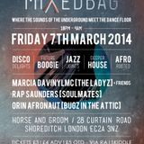 Marcia's MixedBag show on Mi-Soul 17/02/2014