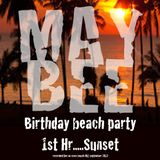 May Bee beach party: Jayess, Sunset hour