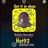 Bobby noodlez Get it in show21st jan 17 (hot92)