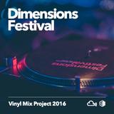 Dimensions vinyl mix project 2016 DJ TineX