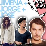 ⚡PopArt junto a Jimena del Sante - Jorge Armas - Jose Dammert ⚡