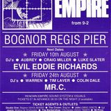 Evil Eddie Richards & MC Rusty - Empire Bognor Pier 10.08.1990