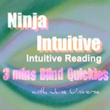 3 Mins Intuitive Blind Reading Quickies 1182016