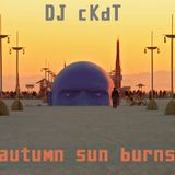 Autum Sun Burns
