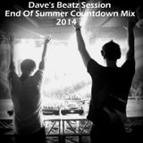 Dave's Beatz Session - End Of Summer Countdown Mix 2014